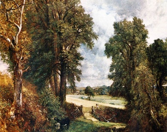 John Constable: The Cornfield. Fine Art Print/Poster. (001733)