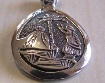 Sterling Silver Pendant By Island Delights Kona Hawaii