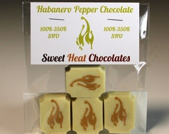 Habanero Pepper White Chocolate 4pc