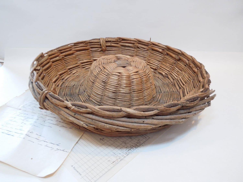 Large round bakery wicker bread basket rattan wicker reed for Wicker reed