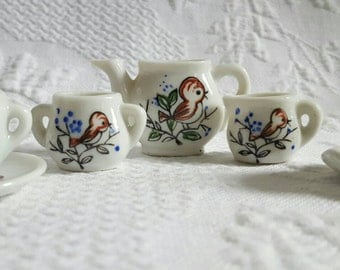 Vintage MINI TEAPOT set