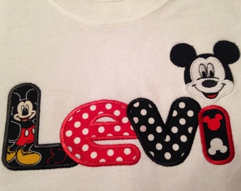 Mickey Mouse Name
