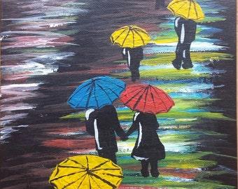 Print of Loving Rain