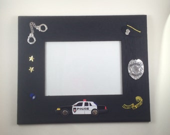 Police officer gift-Police gift-custom picture frame-personalized picture frame-5x7 photo frame