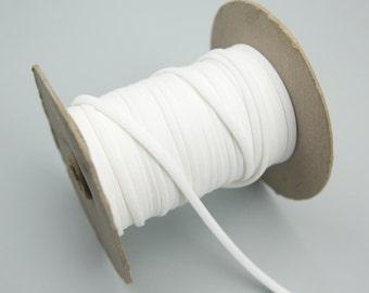 Off White Crepe Chiffon Trim 5 Yards Spaghetti Straps Hollow Tube Tubular  ATN00197