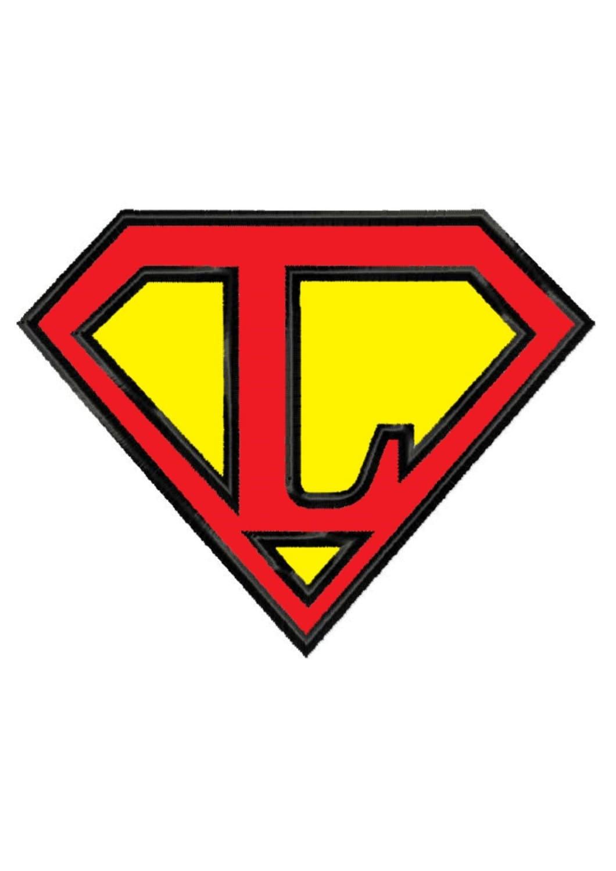 superman letter lapplique machine embroidery design no 219