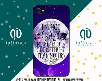Im Not Crazy, Alice In Wonderland, iPhone 6S Case, iPhone SE Case, iPod Touch 6 Case, iPhone 6 Plus, iPhone 6, iPhone 5S & iPhone 5C Case