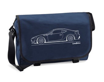 Toyota GT86 Outline Men's Messenger Bag