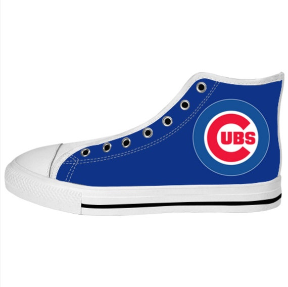 s sneaker chicago cubs custom canvas by wowawesometee