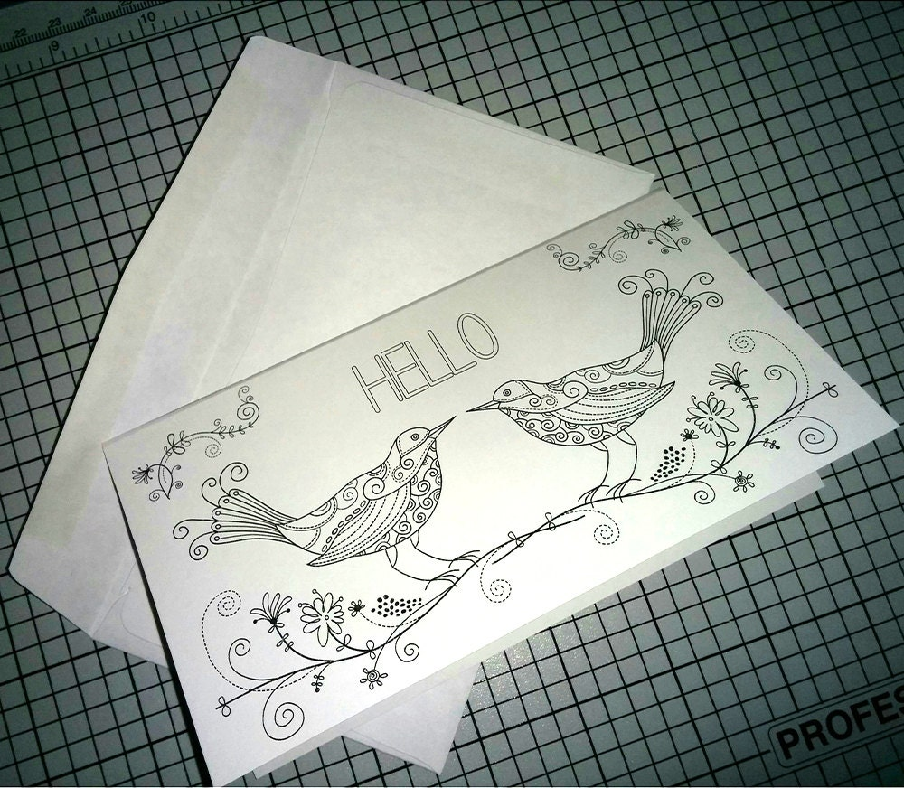 Terrible image within free printable coloring birthday cards for adults