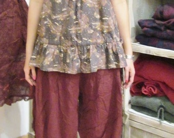 Printed tricky tunic, Roxy, creative model