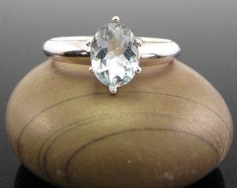 aquamarine ring silver, aquamarine ring, ring aquamarine, March Birthstone Ring aquamarine ring, sterling silver rings size 5 6 7 8 9 10 11