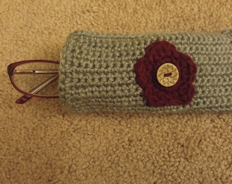 Crochet Eyeglass Case