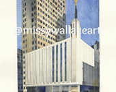 Manhattan LDS Temple Painting (Prints)