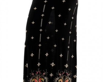New Direction - paisley maxi skirt
