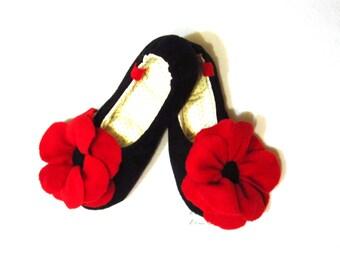 "Slippers ""Spanish Woman"""