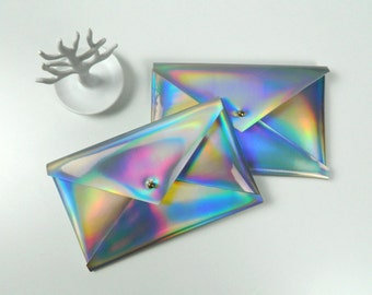 Multifunctional Holographic Case, wallet, pouch, phone case, mini purse
