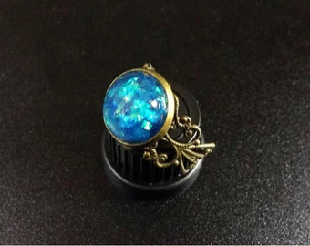 Handmade Faerie Magick Ring, 8 Colors to Choose From - Fairy Ring, Fairie Ring, Fae Ring