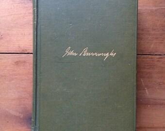 1915 The Breath of Life, John Burroughs, hardcover book, the Breath of Life book, John Burroughs book, vintage book, Houghton Mifflin co