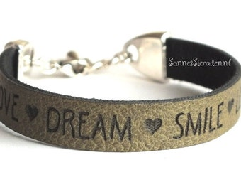 Bracelet love dream smile