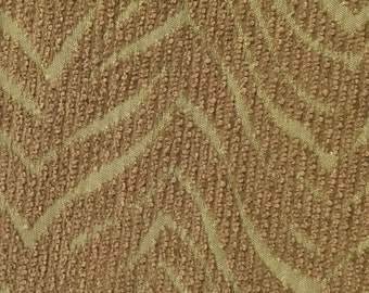 Zig Zag - Green - Upholstery Fabric by the Yard