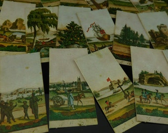 Table Game, collectible, vintage card game, complete