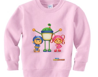 Team Umizoomi Sweatshirt Customized (Colors)