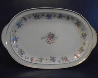 Porcelain Platter / Thomas Ivory / Thomas Ivory Made in Germany / Platter /