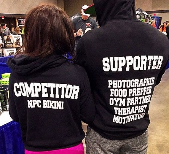 Fitness Competitor hoodie Sweaters. Couples sweaters. Competition hoodie. Mens Gym Hoodie. Womens Gym Sweater Hoodie. Fitness Hoodie Couple