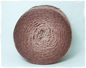 Coffeebreak* Merino silk Gradient Yarn hand dyed - Lace weight