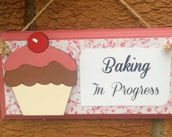 Kitchen Sign Kitchen Plaque Baking Plaque Baking Sign Cooking Plaque Cooking Sign Food Sign Home Sign Home Plaque
