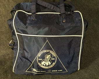 Vintage Pan Am travel bag Berlin Airlift