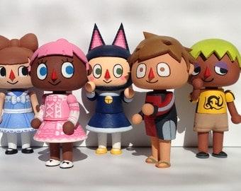 Custom Mayor: Animal Crossing Inspired Mayor Figure