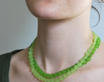 """Necklace """"2couleurs"""" Plexiglas"""