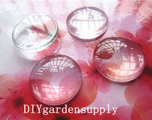 New Products--100pcs 10mm/12mm/14mm/15mm/16mm/18mm glass cabochon round domed glass