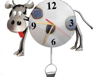 Milk Me Cow Wall Clock