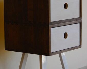 Table, shelf beech oiled 2