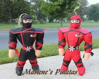 Ninjas or Dragon ball  Z Pinatas .!