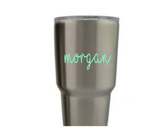 Decals for her | Yeti Decal| Name decal | Mac decal | Personalized Yeti |Decals for Yeti | Personalized decals |Yeti | Decals for cups