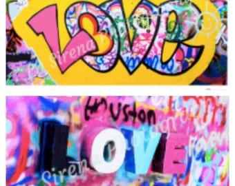 Graffiti LOVE x 2