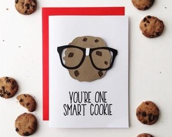 Smart Cookie - graduation card