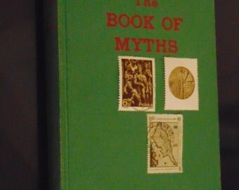 The Book of Myths, Amy Cruse, Myths, Folklore, Legends, Reference Guide, Illustrated Mythology book