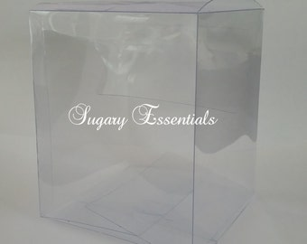 Clear Apple Boxes (12 Pack)