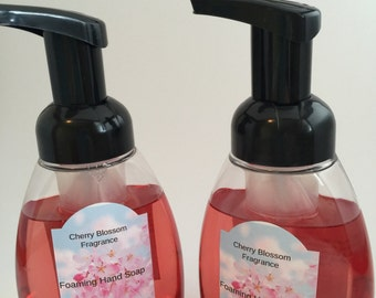 Foaming Hand Soap Cherry Blossom Fragrance