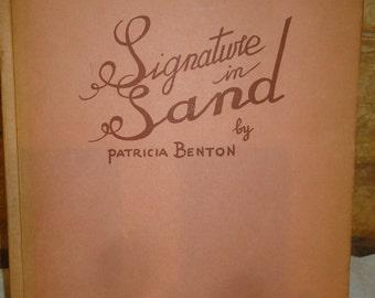 Vintage 1950's Patrica Benton Book of Poetry