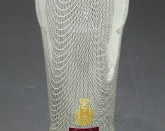 Bohemian Czech Harrachov Art Glass Vase Harrtil Decor by Milan Metelak