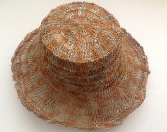 Pure Hemp 100% THC Free Eco friendly Sun Hat
