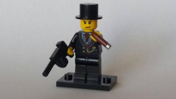 Marilyn Monroe Tommy Gun: Custom Lego Winston Churchill With Tommy Gun