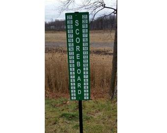 """Cornhole Scoreboard 48"""" Height"""