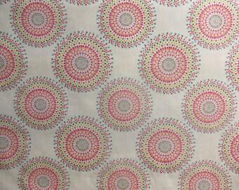 Carousel Print Custom Curtains